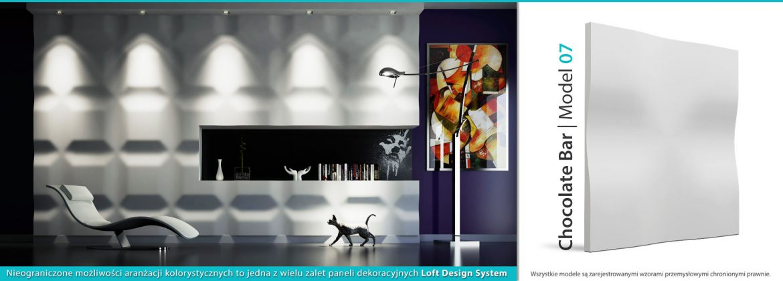 Panel Dekoracyjny Loft System Dekor 07 Chocolate Bar